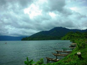Wonderful Ranau Lake Indonesia