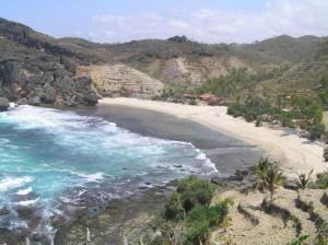 beautiful beach, Parangtritis Indonesia