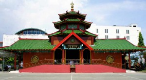 Cheng Ho Mosque in Indonesia