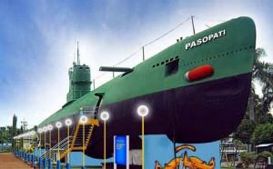 Submarine monument Indonesia