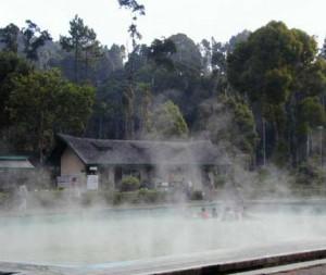 Pemandian air panas walini Ciwidey Bandung