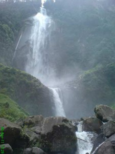 Amazing Ponot Waterfall Indonesia