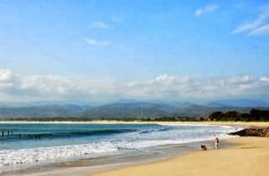 Beautiful Santolo Beach Indonesia