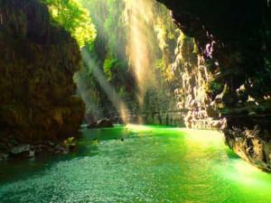 Amazing Green Canyon Pangandaran Indonesia