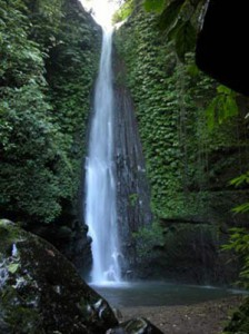 Beautiful Jeruk Manis Waterfall Indonesia