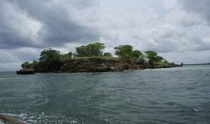 Beautiful Gili Bidara Island Indonesia