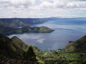 Beautiful Toba Lake Indonesia