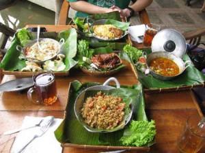 Unique restaurant Sapu Lidi Lembanf Bandung Indonesia