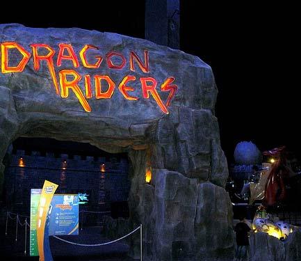 dragon riders trans studio bandung