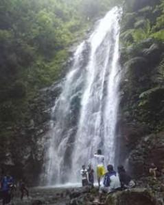 Muara Jaya Waterfall Majalengka Indonesia