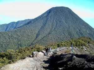 Scary and Amazing Gede Mountain Indonesia
