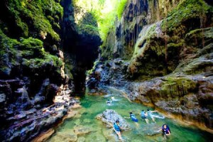 Wisata alam Green Canyon