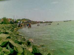Kalapa Patimban beach Indonesia