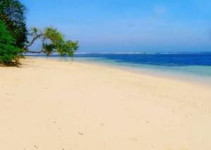 Beautiful Ujung Genteng Beach Indonesia