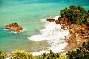 Mysterious and beautiful Pelabuhan Ratu beach Indonesia