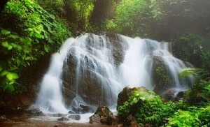 Amazing Ciputrawangi Waterfall Indonesia