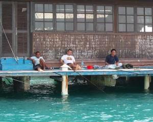 Memancing di Pulau Pelangi Kepulauan Seribu