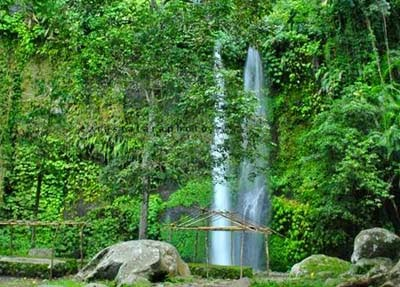 Beautiful Sendang Gile Waterfall Indonesia 4
