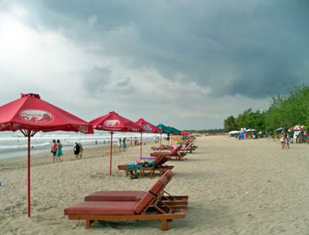 Pantai Kuta Bali Indah