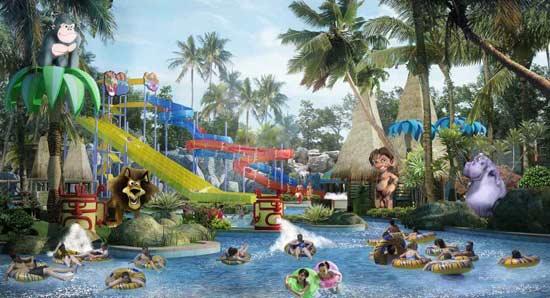Wisata Palembang waterpark