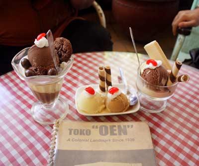 Restaurant Ice Cream Oen