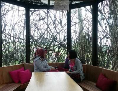 dusun bambu di Bandung