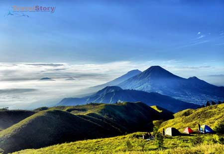 REVIEW WISATA GUNUNG PRAU DIENG WONOSOBO - Tempat Wisata Terbaik Di Indonesia