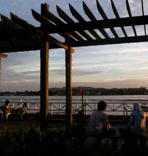 Sungai Mahakam Sunset