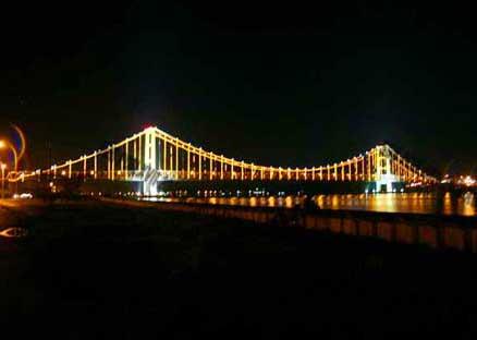 Jembatan Kukar Sungai Mahakam