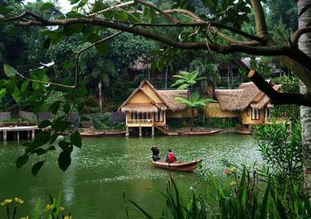 Kampung Sampireun Harga