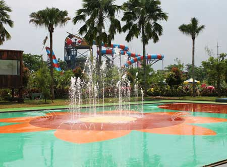 Waterkingdom Futsal Fountain