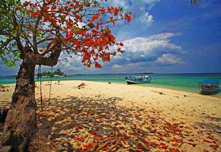 Pulau Lengkuas map
