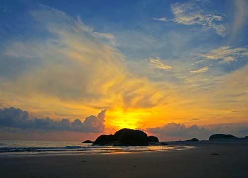 Pantai rambak sunrise