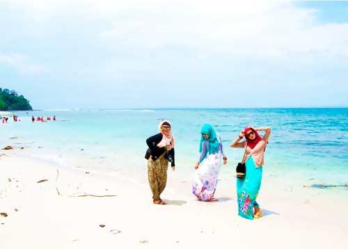 Pantai pananjung Ciamis