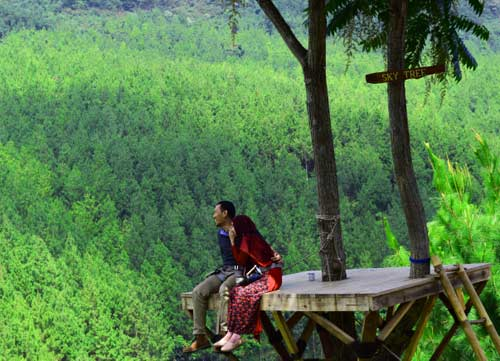 Pemandangan The Lodge Lembang